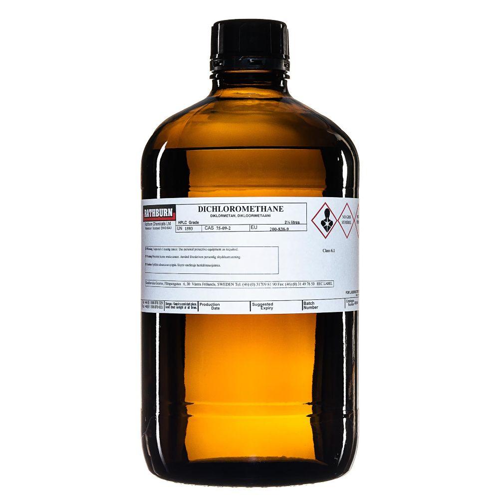 genetec dichloromethane 2 5 liter solvents products